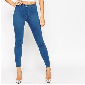 ASOS Denim skinny jeans 28x32 cute sexy high waist